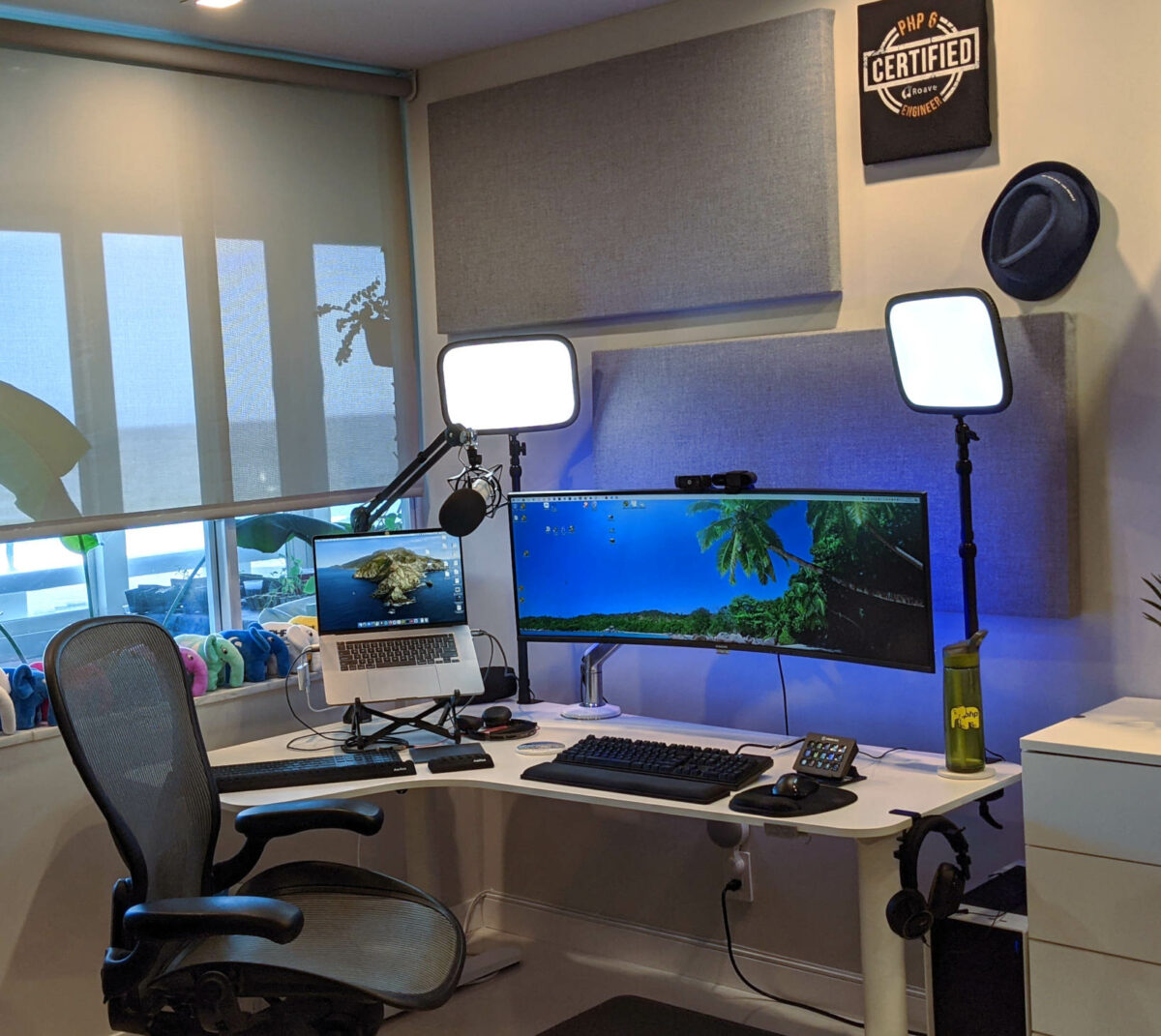 Beachcasts Studio Setup